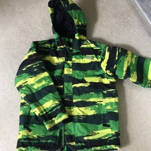 Boys North Face ski coat
